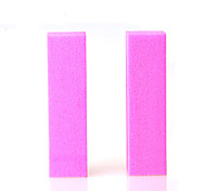 2pcs/lot colorful Nail Art sanding Buffing Block Nail File