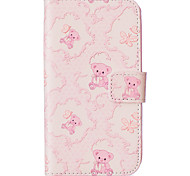 Toy Bear Pattern Embossed PU Leather Case for Galaxy J5(2016)/ Galaxy Grand Prime/ Galaxy Grand Prime/ Galaxy J5