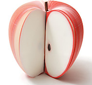 Large Creative Apple Post-It Notes Kudamemo Fruit