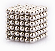 Buckyball Magnet Toys 648pcs 3mm Executive Toys Magic Magnet DIY Balls Magnetic Balls Cube Puzzle Silver
