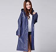 New Korean Environmental EVA Raincoat Outdoor Raincoat Poncho Adult Siamese Thickened