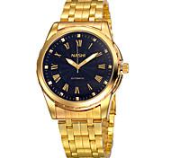 Men's Wrist watch Men's High-Grade Gold Automatic Mechanical Watches Calendar Waterproof(Assorted Colors) Cool Watch Unique Watch