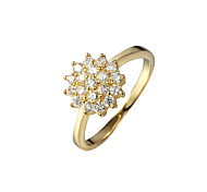 Party Gold Plated Statement Ring Fashion Rings for Women 2016