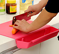 Ribbon Candy Dish Groove Antibacterial Cutting Board Cutting Board Foldable