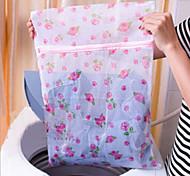 Flowers Fine Mesh Nylon Laundry Bag Bra Care Wash Bags Child
