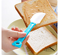 Silicone Baking Scraper The Cartoon Handle Soft Scraper (Random Color)