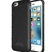 For iPhone 5 Case Embossed Case Back Cover Case Geometric Pattern Soft TPU iPhone SE/5s/5