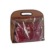 Transparent Storage Bag for Handbag(L 39x12x41cm Assorted Color)