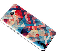 Relief Pattern Silicone Material Back Cover for RedMi note2