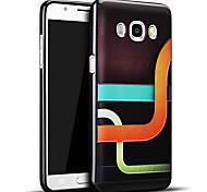 material de silicona de moda el modelo gráfico 3d alivio de la contraportada para Samsung Galaxy J5 (2016) / J5 Galaxy