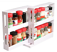 Chef's Edition Spice Stack - Bottle Spice Organizer, White