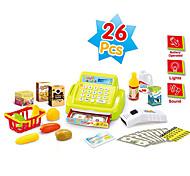 educativa de juegos infantiles para niños juguetes iluminación fija sonido alegre y simulación de la luz caja registradora de juguete