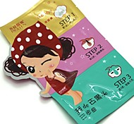 1 Masque Sec / Humide Liquide Anti Peau Grasse / Anti-Acne / Nettoyage Visage Noir China PILATEN