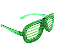 Green Light Emitting Grille Window Shades Window Shades Glasses