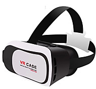 Head Case filme 3d vr montagem de plástico versão caixa de vr óculos de realidade virtual para telefone inteligente