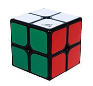 Fangshi® Cubo velocidad suave 2*2*2 Velocidad Cubos Mágicos Negro PVC / ABS