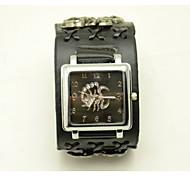 Unisex Fashion Watch Scorpion Square Rivet Slim Belt Quartz Watch(Assorted Colors) Cool Watches Unique Watches