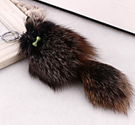 Korean bow rabbit hedgehog keychain