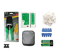 Portable Ethernet Network Cable Tester Tools Kits RJ45 Crimping Crimper Stripper Punch Down RJ11 Cat5 Cat6 Wire Detector