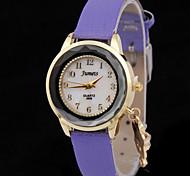 Women's Sun Flower Pendant 3D Mirror Quartz WatchWomen Alloy Diamond Fashion Watch Cool Watches Unique Watches