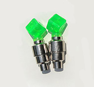2PCS Dice Valve Cap Lights  Tyre Wheel Lights for Bicycle / Car / Motorcycle