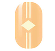 Yellow Hollow Nail Stickers