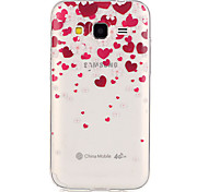 amare fondello TPU patterntransparent per Galaxy Grand Prime / Galaxy nucleo prime