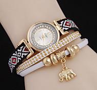 Women's  Elephant Pendant Quartz Watch Cool Watches Unique Watches