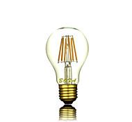 Bombillas LED de Globo Regulable / Decorativa NO A60(A19) E26 / E26/E27 3W 3 COB 200-300 lm Blanco Cálido AC 100-240 V 1 pieza