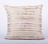 Stripe Jacquard  Cushion Cover-Gold