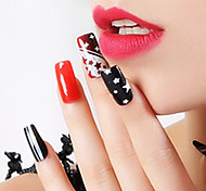 Slim Laser Sticker PVC Abstract Nail Jewelry