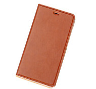 For Mi Case Flip Case Full Body Case Solid Color Hard PU Leather Xiaomi