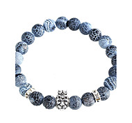New Arrival Nature Stone The Lion King Crown Bracelet Strand Bracelets Daily / Casual 1pc Jewelry
