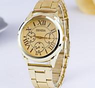 Women's Fashionable Geneva Steel Quartz Watch Cool Watches Unique Watches