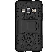 For Samsung Galaxy Case Shockproof / with Stand Case Back Cover Case Armor PC Samsung Grand Prime