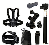 Accessori GoPro Monopiede / Treppiedi / Vite / Con bretelle / Accessori Kit / Montaggio Tutto in uno / Conveniente, Per-Action cam,Gopro
