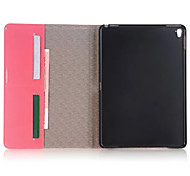 "Unique Design Luxury Grid pattern PU Leather Case Flip Cover For Apple iPad Mini Pro 9.7"" Tablet With Card Slot"