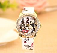 Women's Fashionable  Leisure Retro Quartz Watch Leather Band Cool Watches Unique Watches
