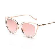 Sunglasses Women's Retro/Vintage / Fashion Mirrored / 100% UV Cat-eye Black / Silver / Gold Sunglasses Full-Rim