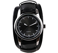 Foreign Trade Fashion Black Belt Men's Fashion Watch