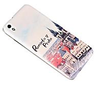 schienale in policarbonato copertura per HTC Desire 816