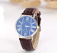 Men's Fashion Hot Blue Classic European Style Quartz Wrist Watch Cool Watch Unique Watch