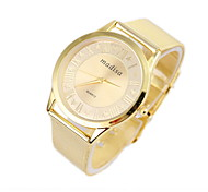 Women's Fashionable Leisure Golden Woven Mesh Watches Cool Watches Unique Watches
