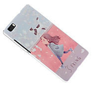 PU Leather Back Cover for Huawei P8