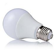 7W E26/E27 Bombillas LED de Globo A60(A19) 18 SMD 5630 650 lm Blanco Cálido / Blanco Fresco Decorativa AC 100-240 V 1 pieza