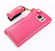 PU Leather Belt Hang Rope Cell Phone Holster Protection Cover for Samsung Galaxy S3/4/5/6