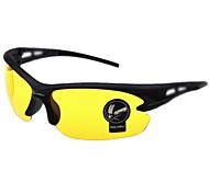 maschi Anti-riflettente/100% UV400 Avvolgere Occhiali da sole