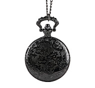 Unisex Pocket Watch Large Hot Embossed Matte Texture Of The Eiffel Tower Classical Flip Shiying Huai Table
