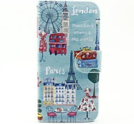 For Samsung Galaxy Case Card Holder / with Stand / Flip / Magnetic / Pattern Case Full Body Case Cartoon PU Leather SamsungA5(2016) /