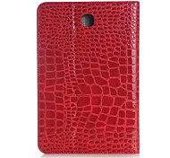 For Samsung Galaxy Case Card Holder / Wallet / with Stand / Flip / Embossed Case Full Body Case Geometric Pattern PU Leather SamsungTab